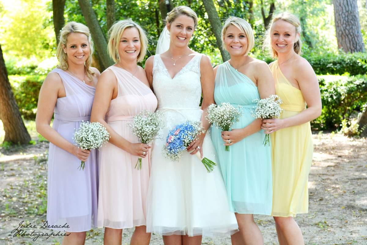 Quelles sont les couleurs interdites pour un mariage - Coupe demoiselle d honneur ...