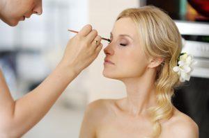 Maquillage nude mariée