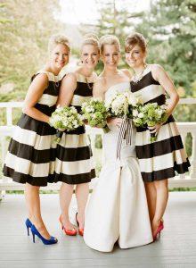 couleurs interdites mariage noir et blanc