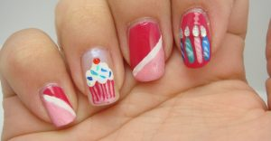 Ongle nail art original