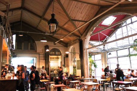 La recyclerie restaurant paris
